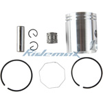 Piston Pin Ring Kit Assembly for YAMAHA PW50 PW 50 Dirt Bikes