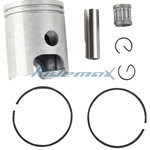 47mm Piston Set Kit Assembly Yamaha PW80 PW 80 Dirt Bike Parts