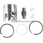 40mm Piston Pin Ring Kit Assembly 2 Stroke 49cc 50cc Scooters,free shipping!