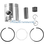 X-PRO<sup>®</sup> 40mm Piston Kit Assembly 2 Stroke 49cc 50cc Scooters,free shipping!