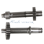 Main Counter Shaft for 50cc 70cc 90cc 110cc 125cc ATVs, Dirt Bikes, Go Karts