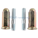 Exhaust Bolt for 50cc & 150cc Scooters, ATVs, GKs