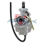 PZ20 Carburetor for 50-110cc ATVs, Dirt Bikes, Go Karts