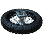 "10"" Rear Wheel Assembly for 70-125cc Dirt Bikes"