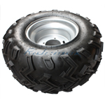 22x10-10 Left Rear Wheel Assembly for 250cc ATVs