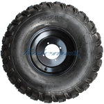 19x7-8 Left Wheel Assembly for 125-250cc ATVs