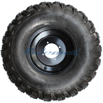 "19x7-8 8"" Right Wheel Rim Tire Assembly For 125cc-250cc ATVs 19-7-8"