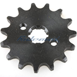 420 Chain Front Sprocket for ATVs, Dirt Pit Bikes, Go Karts 15-Teeth