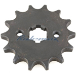 428 Chain 14 Tooth Front Engine Sprocket for 50cc-150cc Horizontal Engine Vehicles