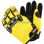 Motocross Racing Sports Glove - Yellow