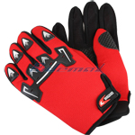 Motocross Racing Sports Glove - Red