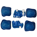 Blue 6pcs Protection Kits Fit for Hoverboard Balancing Scooter
