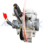 30mm Carburetor w/Electric Choke for 250cc Mopeds / Scooters & Go Karts,free shipping!