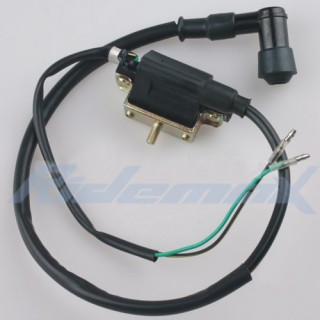 2 wire version ignition coil for 4 stroke 50cc 90cc 110cc. Black Bedroom Furniture Sets. Home Design Ideas