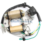 X-PRO<sup>®</sup> 2-Coil Half-Wave Magneto Stator for 50cc-125cc Electric Start ATVs & Dirt Bikes & Go Karts,free shipping!