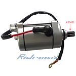 X-PRO<sup>®</sup> 9 Tooth Starter Motors for 150cc-250cc Dirt Bikes and ATVs,free shipping!