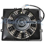Electric Radiator Cooling Fan Assembly for 250cc Scooters & Go Karts