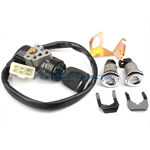 X-PRO<sup>®</sup> Ignition Key Switch Set Assembly for 50cc-150cc Scooters,free shipping!