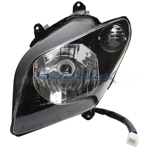 Left Headlight Assembly for  MC-54-150/250 Scooter