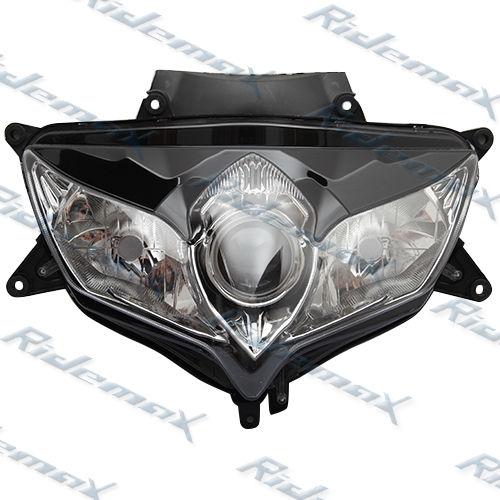 Clear Headlight Assembly Suzuki 2008 2009 GSXR600 GSX-R750 Head light