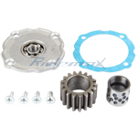 17 tooth Clutch cover Gear for 50cc-125cc ATV, Dirt Bike & GoKart