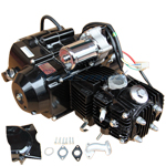 110cc 4-stroke Auto w/Reverse Engine Motor, Electric Start for 50cc 70cc 90cc 110cc Go Karts ATVs, Free Shipping