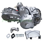 125cc 4-stroke Engine Motor w/Automatic Transmission, Electric Start fit 50cc-125cc ATVs Go Karts, Free Shipping!