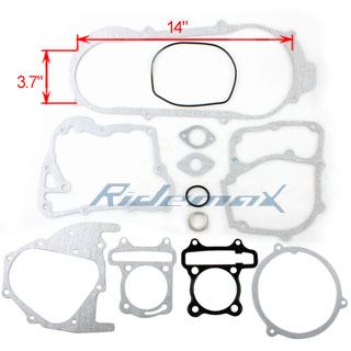 Complete Gasket Set Kit GY6 150cc Shortcase Engine ATVs & Go Karts