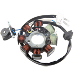 X-PRO<sup>®</sup> 8 Coil Magneto Stator for 50cc Scooter,free shipping!