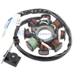 X-PRO<sup>®</sup> 8 Coil Magneto Stator for 150cc Scooter,free shipping!