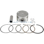 Piston Pin Ring Set Assembly for 150cc ATVs & Scooters and Go Karts