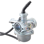 X-PRO<sup>®</sup> 25mm Carburetor w/Hand Choke Lever for 125cc  4-stroke ATVs, Dirt Bikes & Go Karts