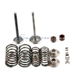 Intake & Exhaust Valve Assembly for CF 250cc Scooters and Go Karts