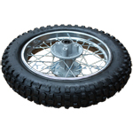"12"" Rear Wheel Rim Tire Assembly for SSR 70cc-125cc Dirt Bikes"