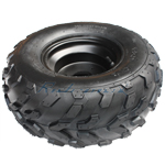 16x8-7 Right Front/Rear Wheel Rim Tire Assembly for 110cc 125cc ATVs 80mm,free shipping!