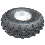 21x7-8 Right Front Wheel Rim Tire Assembly for 150cc 200cc 250cc ATVs