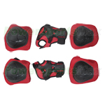 Black/Red 6pcs Protection Kits Fit for Hoverboard Balancing Scooter